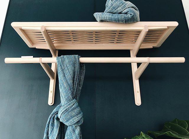 Woven shelf / rail combo, come see a bunch of new stuff @fieldandsupply