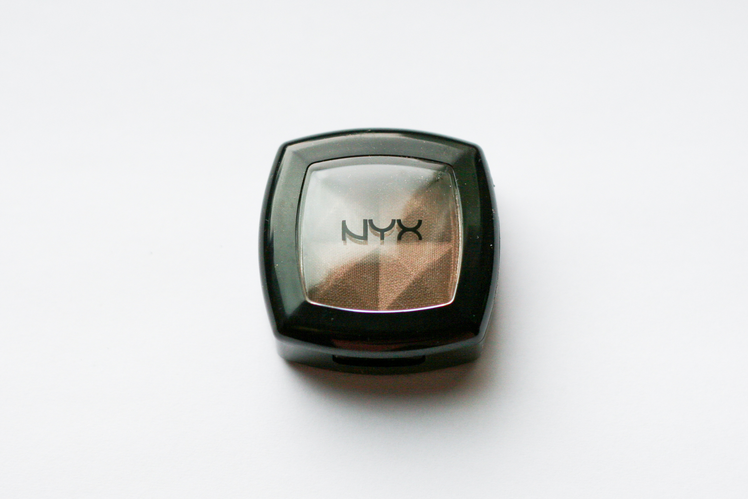 NYX eyeshadow in Iced Mocha.