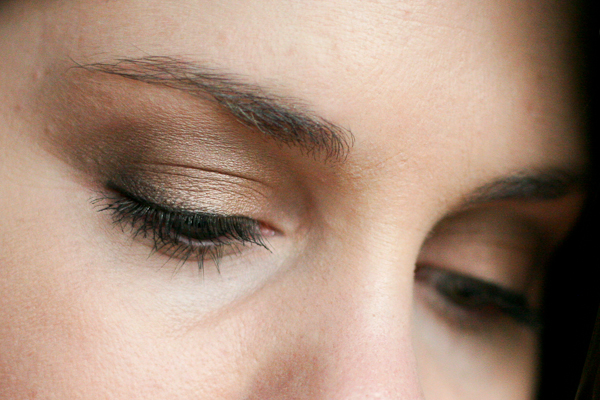 MAC Bare My Soul quad, applied. Same look, different angle. What do you think?