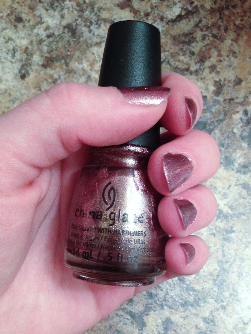 China Glaze Nail Laquer in Strike up a Cosmo is from China Glaze's Fall 2013 Collection.