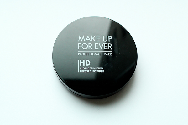Make Up For Ever HD Pressed Powder.