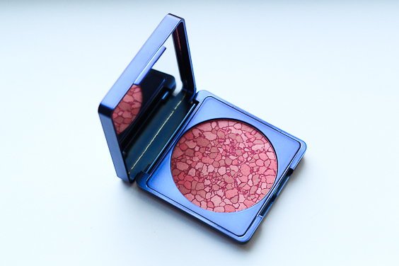 Lise Watier Imagine Blush. See the big mirror on the inside? Great for travelling.