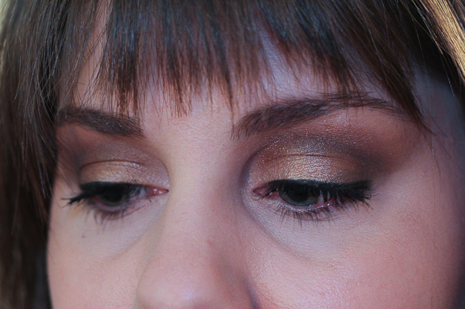 Make Up For Ever Graphic Liner  with NARS Yeux Irrisistible Palette.