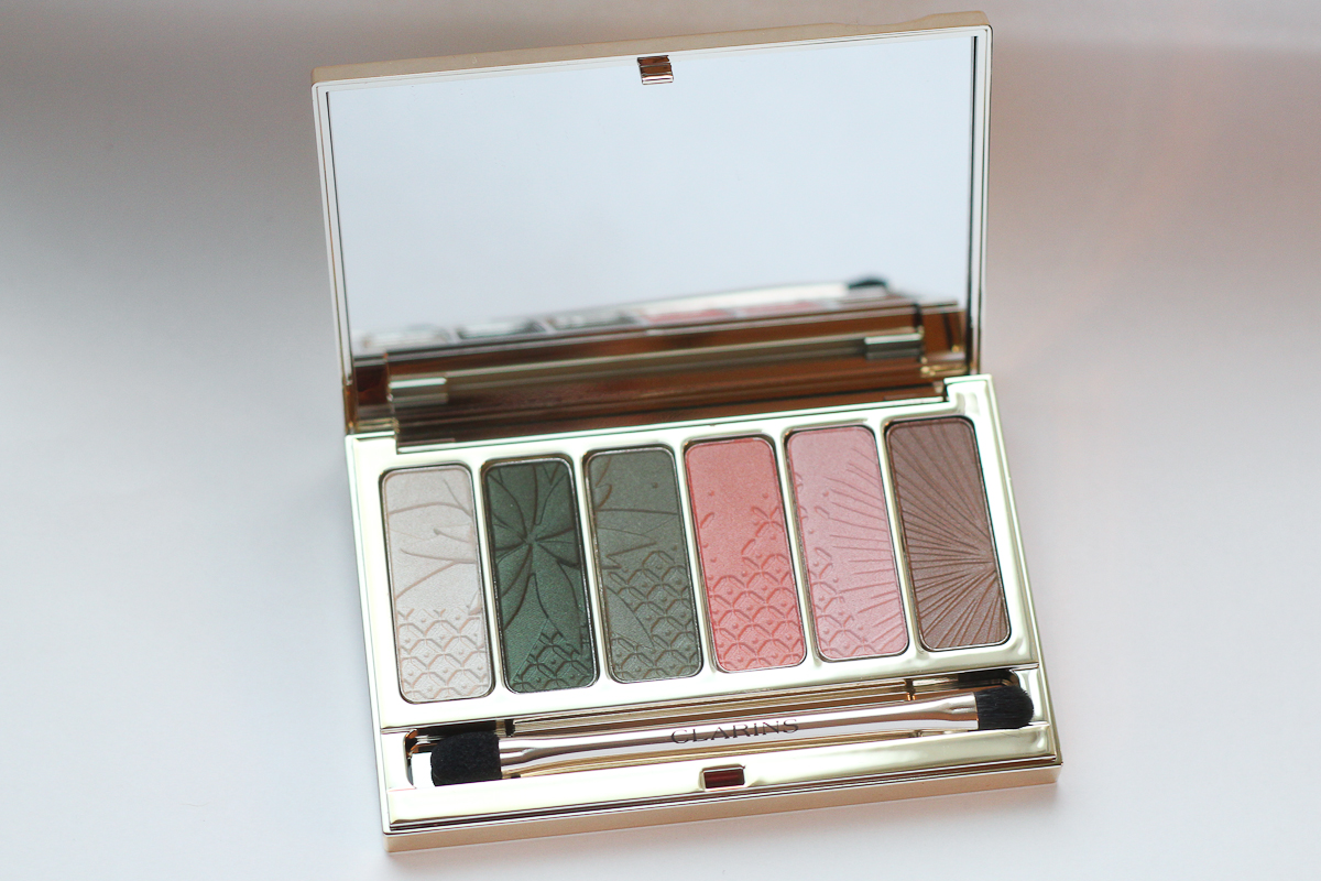 Clarins Garden Escape Palette (Click to enlarge)