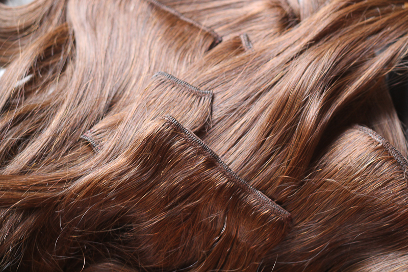 Irresistible Me Silky Touch Hair Extensions in Medium Brown