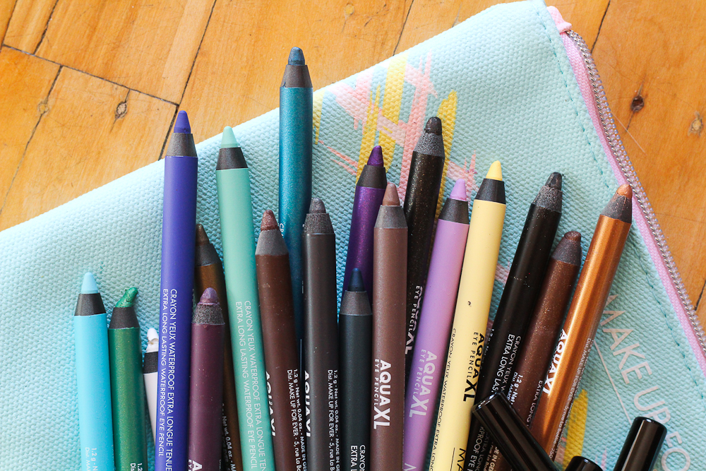 Make Up For Ever has released a set of 20 colourful new eyeliners.