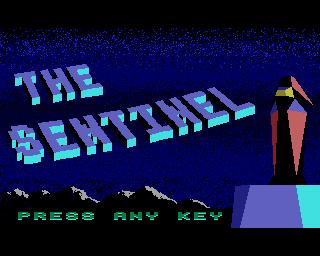 """""""The Sentinel"""", Geoff Crammond/Firebird, 1986"""