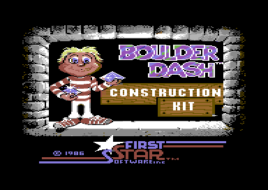 """Boulderdash Construction Kit"", Databyte/First Star, 1986"