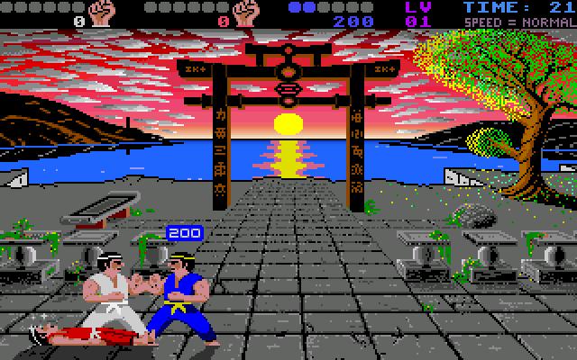 """International Karate+"" Archer Maclean/System 3, 1988"