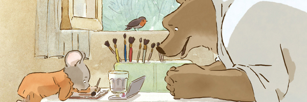 Bear and mouse,  Ernest & Célestine  {Photo: GKIDS}