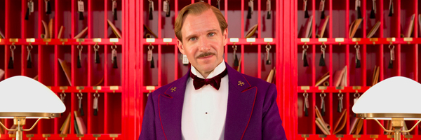 Loud colors and symmetry - an image that immediately resonates as a Wes Anderson concoction {Photo: FOX SEARCHLIGHT}