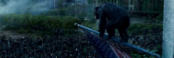 Apes a'poppin in  Dawn of the Planet of the Apes  {Photo: TWENTIETH CENTURY FOX }