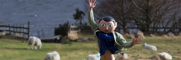 The unrecognizable Michael Fassbender in  Frank  {Photo: MAGNOLIA PICTURES}