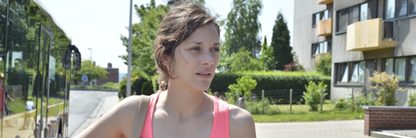Marion Cotillard in a scene from Jean-Pierre and Luc Dardenne's Two Days, One Night {Photo: SUNDANCE SELECTS/IFC FILMS}