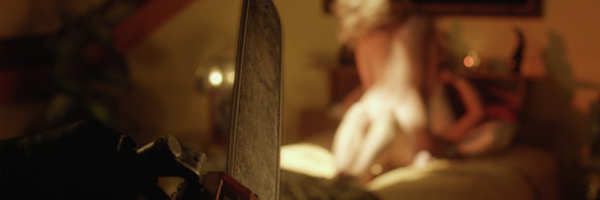 A scene from Adam Brooks and Matthew Kennedy's The Editor  {Photo: ASTRON-6}