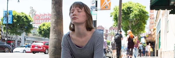 Mia Wasikowska in a scene from David Cronenberg's Maps to the Stars {Photo: ENTERTAINMENT ONE}