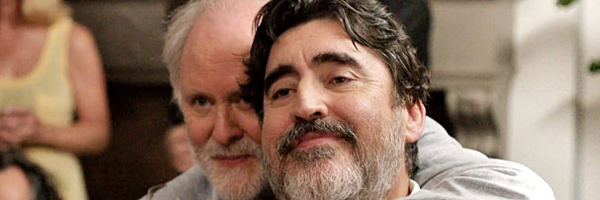 John Lithgow and Alfred Molina in a scene from Ira Sachs' Love is Strange {Photo: SONY PICTURES CLASSICS}