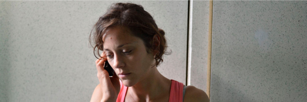 Marion Cotillard in a scene from Jean-Pierre and Luc Dardenne's  Two Days, One Night  {Photo: IFC FILMS}