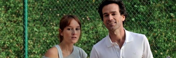 Anaïs Demoustier and Romain Duris in a scene from François Ozon's  The New Girlfriend  {Photo: COHEN MEDIA GROUP}