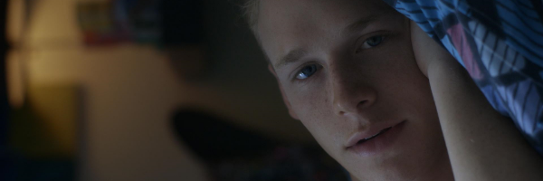 Cole Doman in a scene from Stephen Cone's  Henry Gamble's Birthday Party  {Photo: WOLFE RELEASING}
