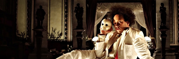 Elmer Bäck in a scene from Peter Greenaway's  Eisenstein in Guanajuato  {Photo: STRAND PICTURES}
