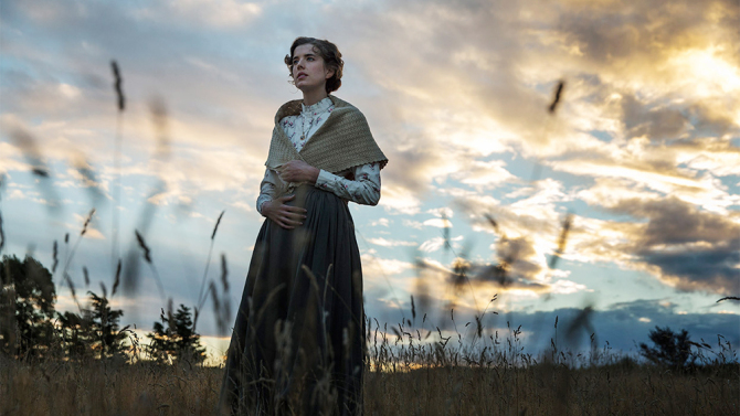 Agyness Deyn in a scene from Terence Davies'  Sunset Song  {Photo: MAGNOLIA PICTURES}