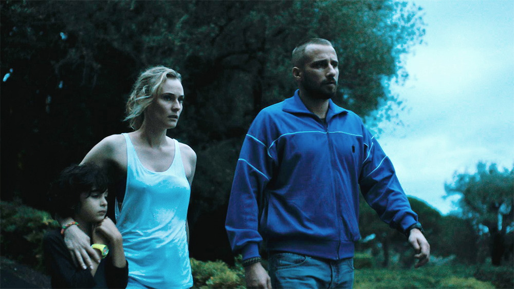 Diane Kruger and Matthias Schoenaerts in a scene from Alice Winocour's  Disorder  {PHOTO: IFC FILMS}
