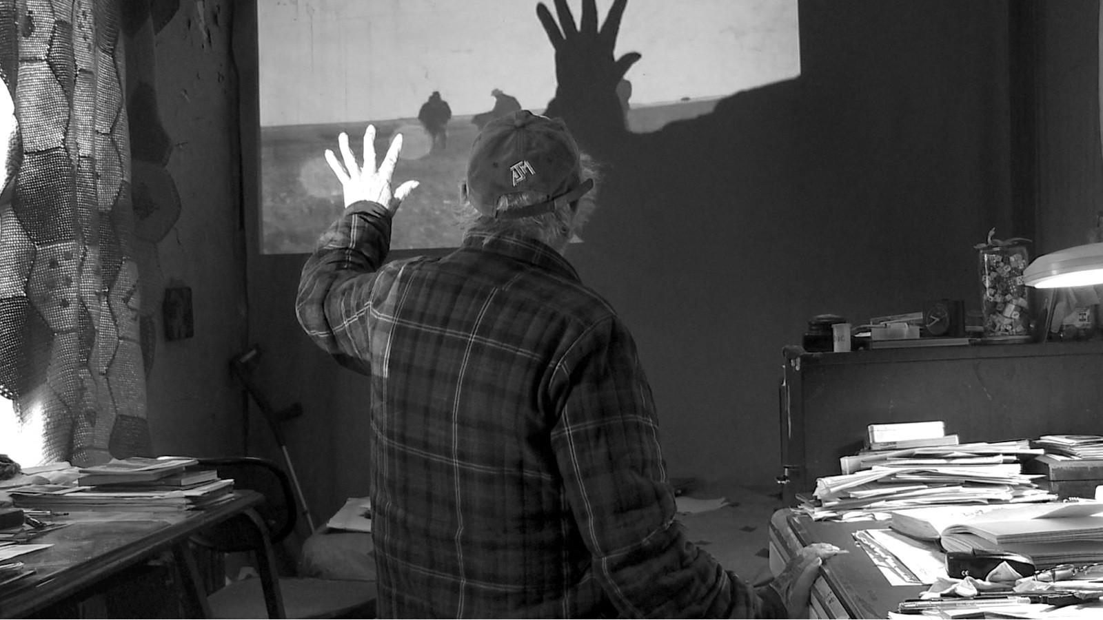 A scene from Laura Israel's  Don't Blink: Robert Frank  {Photo: GRASSHOPPER FILMS}