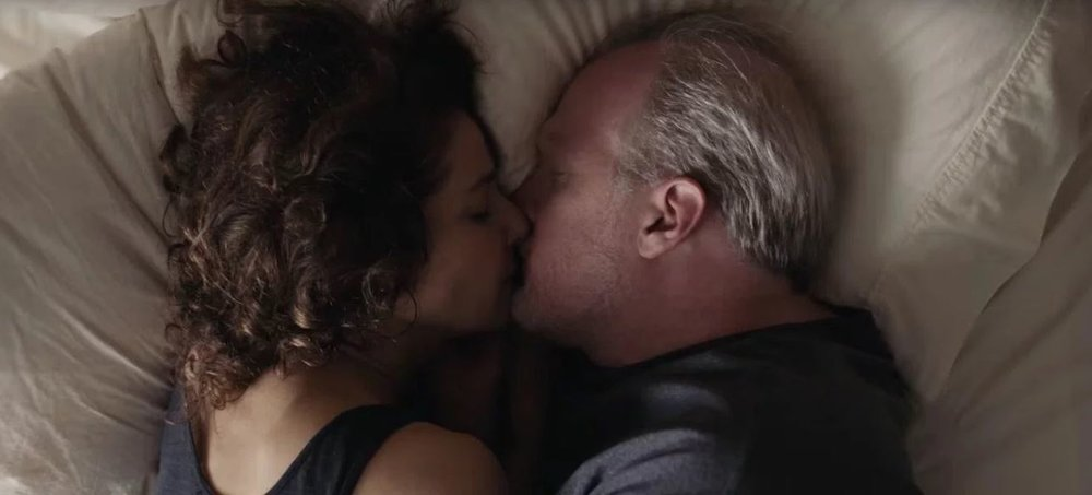 Debra Winger and Tracy Letts in a scene from Azazel Jacobs'  The Lovers  {Photo: A24}