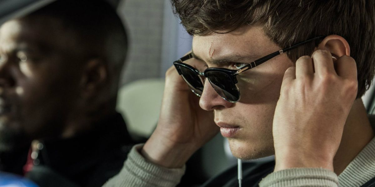 Ansel Elgort in a scene from Edgar Wright's  Baby Driver  {Photo: TriStar Pictures}