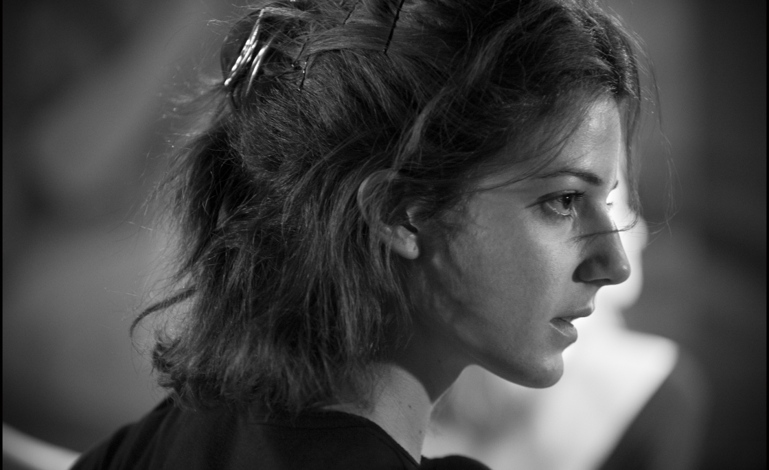 Esther Garrel in a scene from Philippe Garrel's  Lover for a Day  {Photo: MUBI}