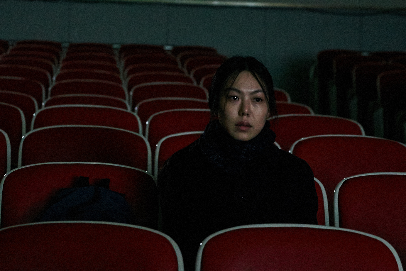 Kim Min-hee in a scene from Hong Sang-soo's  On the Beach At Night Alone  {Photo: THE CINEMA GUILD}