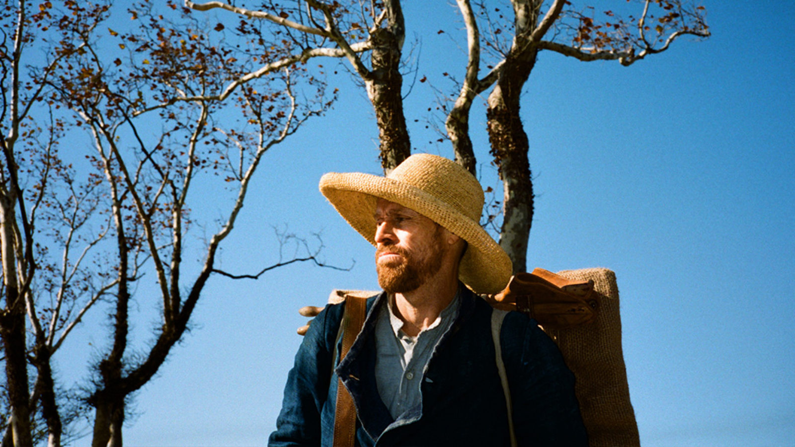 Willem Dafoe as Vincent van Gogh in Julian Schnabel's  At Eternity's Gate  {Photo: CBS Films}