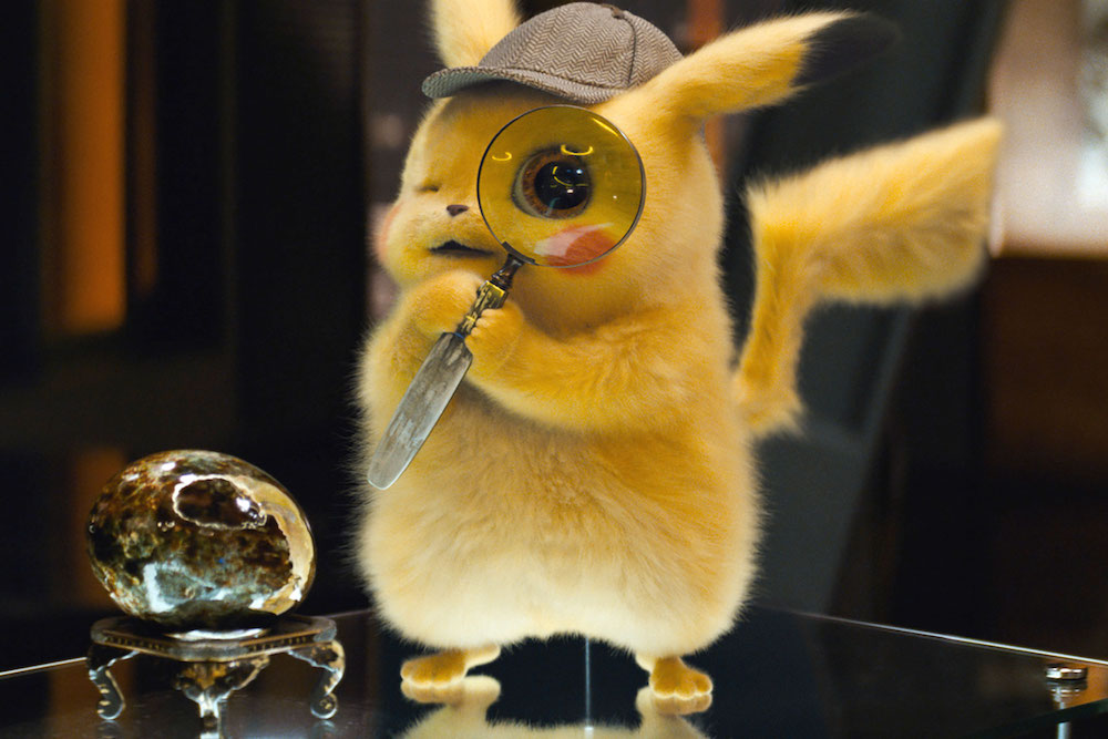A scene from Rob Letterman's  Pokémon Detective Pikachu  {Photo: WARNER BROS. PICTURES}