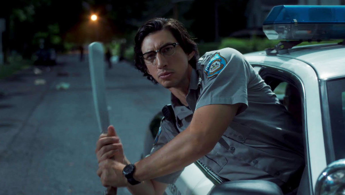 Adam Driver in a scene from Jim Jarmusch's  The Dead Don't Die  {Photo: FOCUS FEATURES}