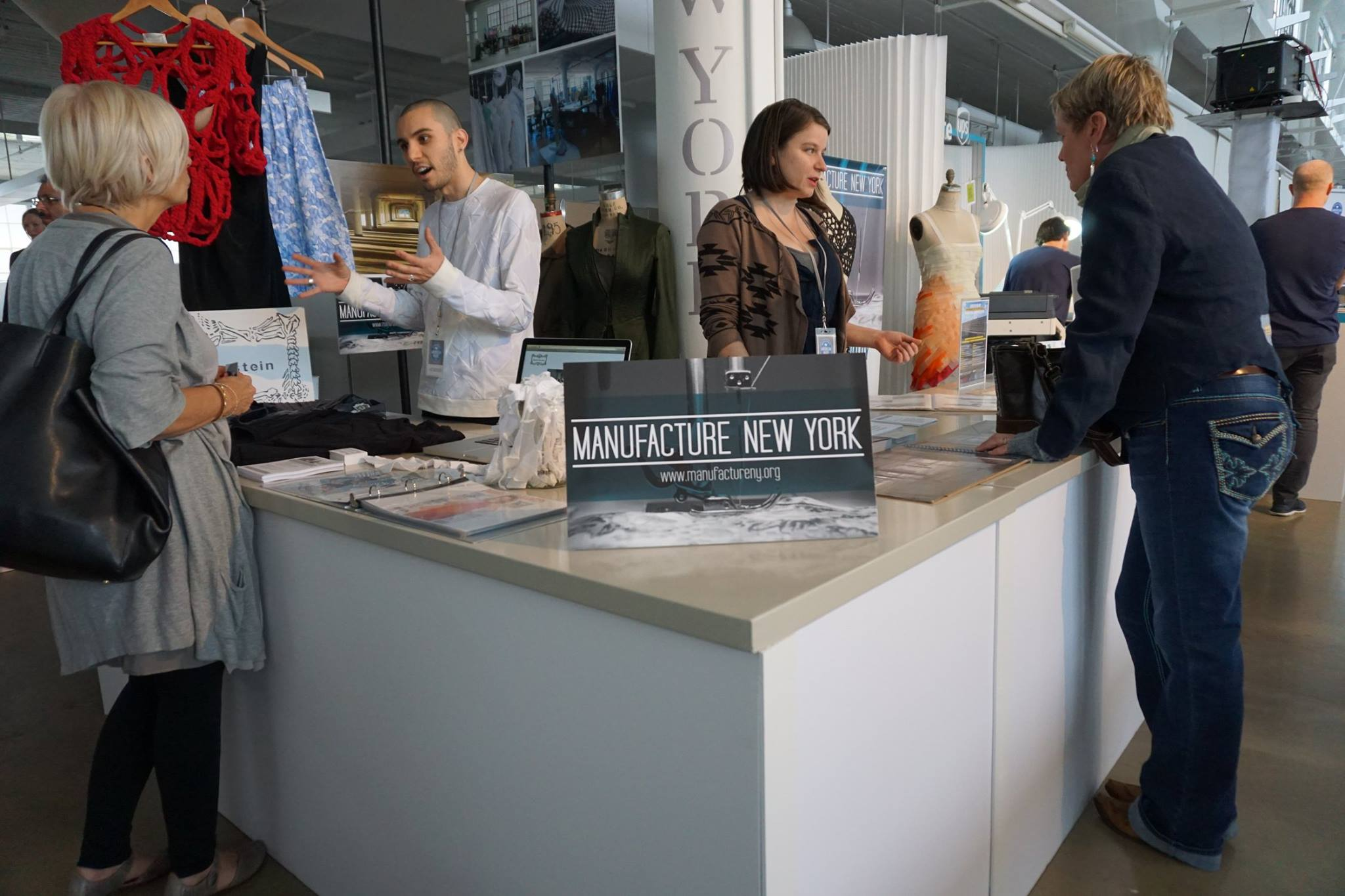 the manufacture new york space at the martha stewart 2015 american made summit  photo by nica rabinowitz