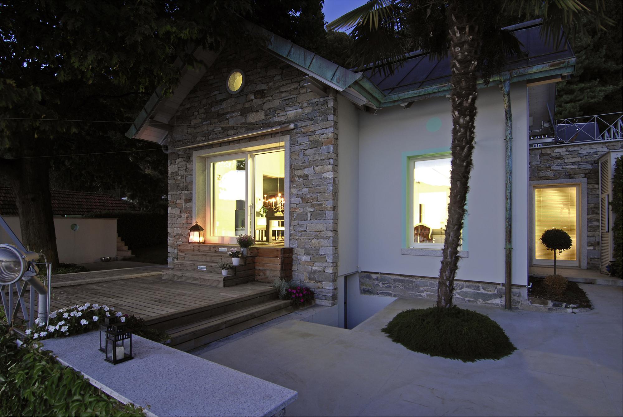 House on Orta's Lake