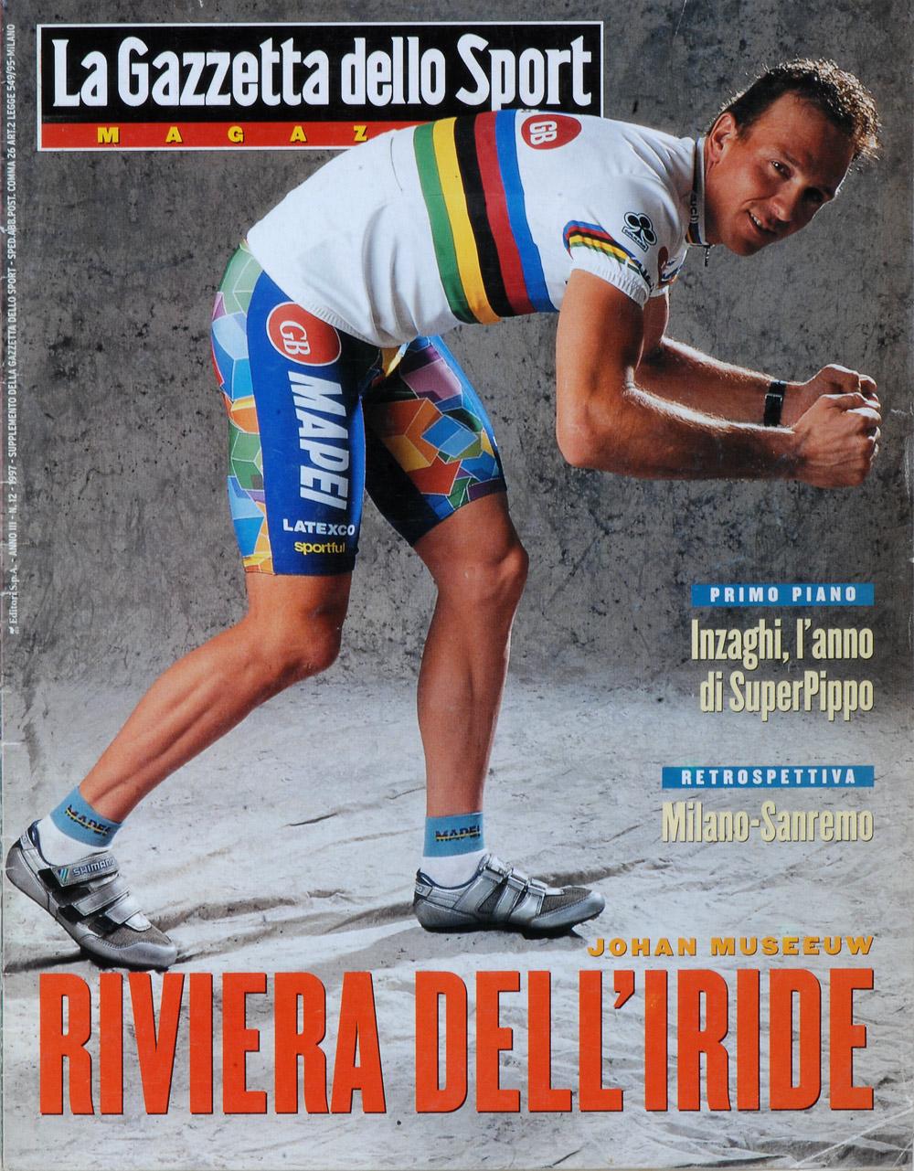 Gazzetta dello Sport Magazine Cover