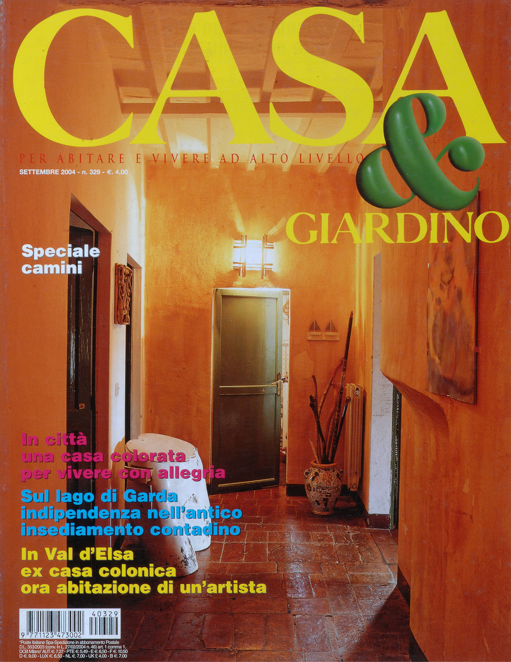 Casa & Giardino Magazine Cover