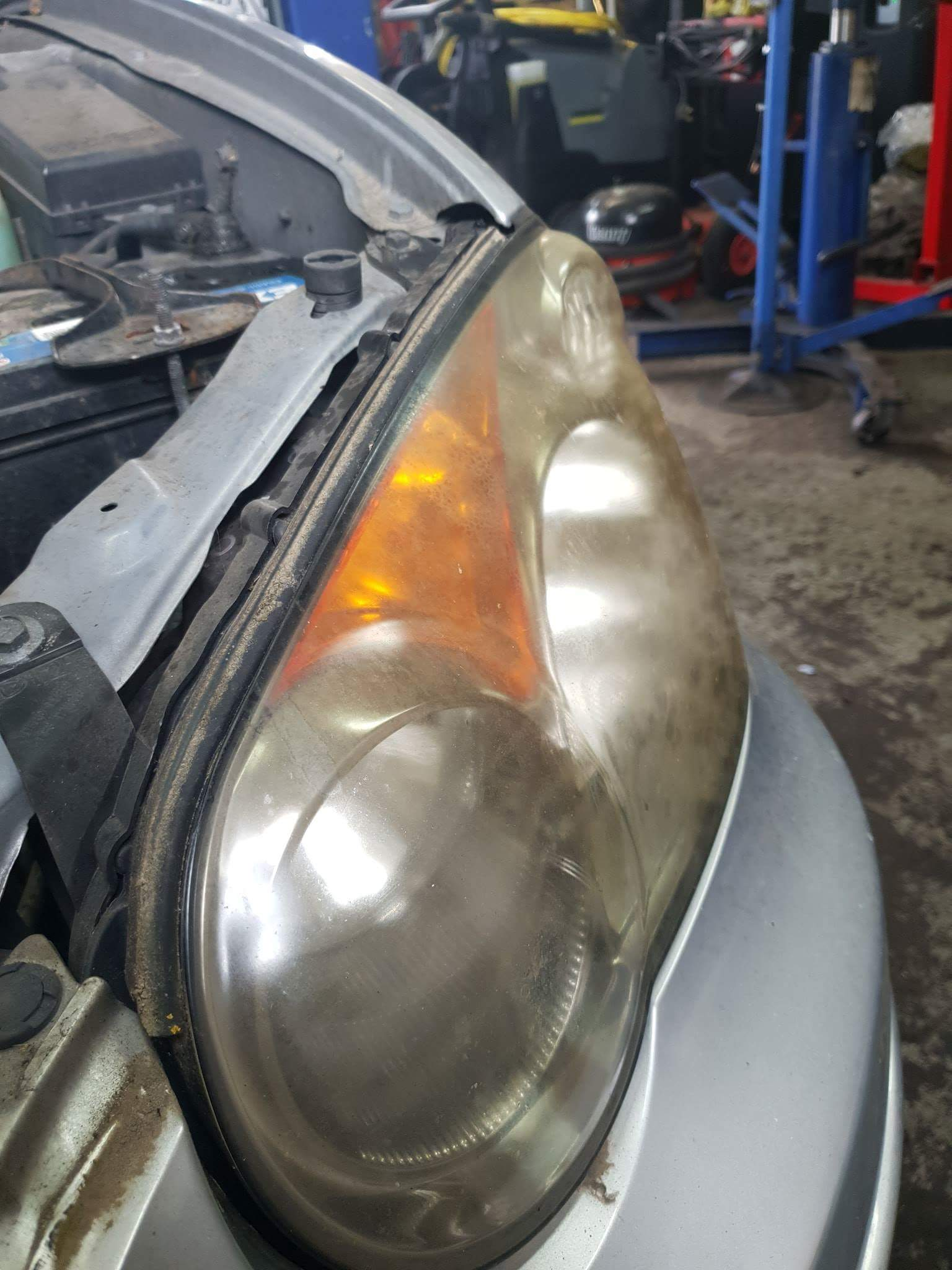 Headlight restorations can now be carried out in house, a much cheaper alternative to buying new headlights