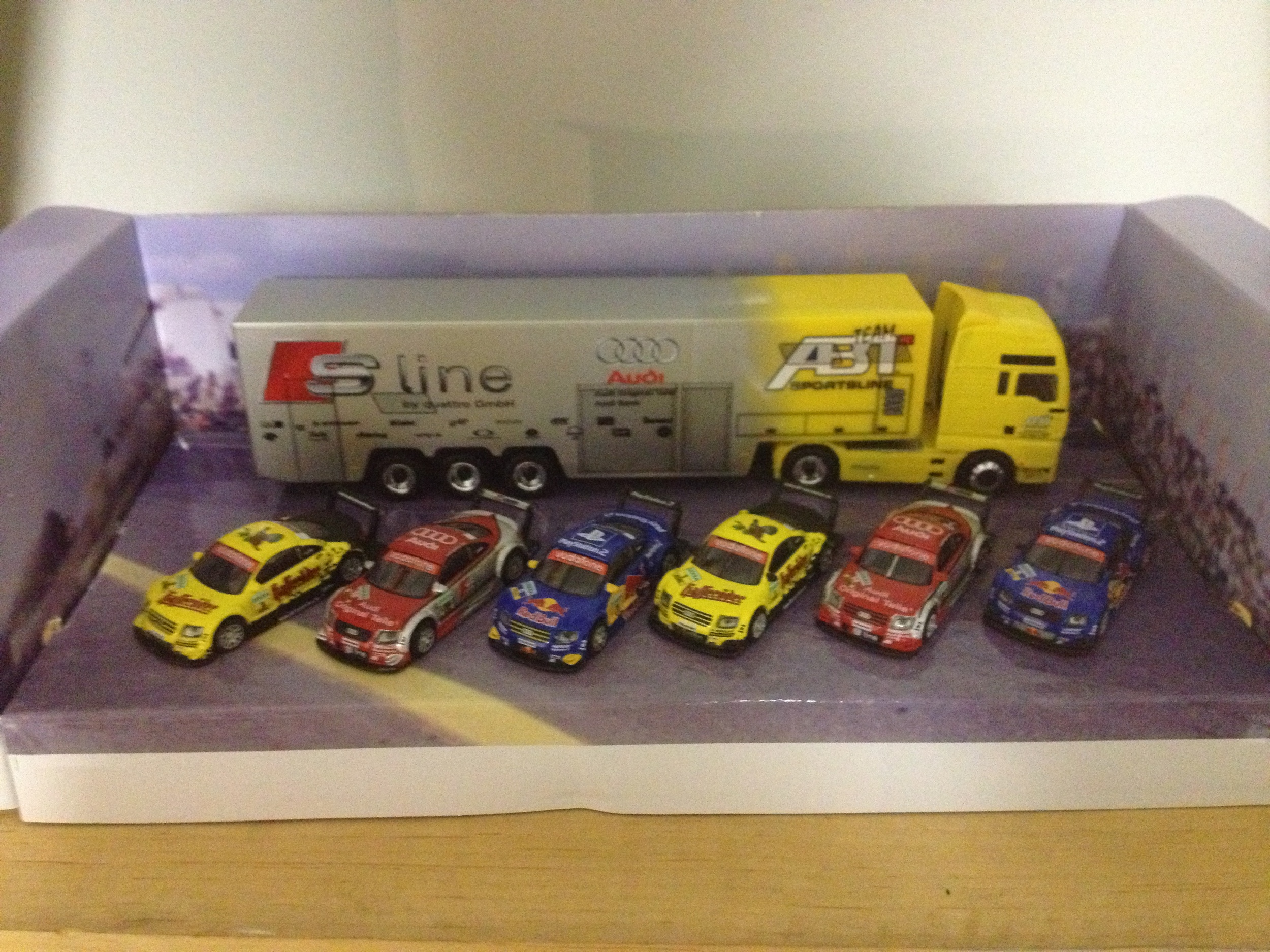 Abt racing toy collection