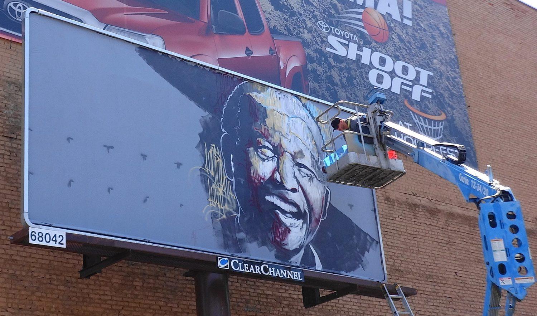 Nelson Mandela Billboard