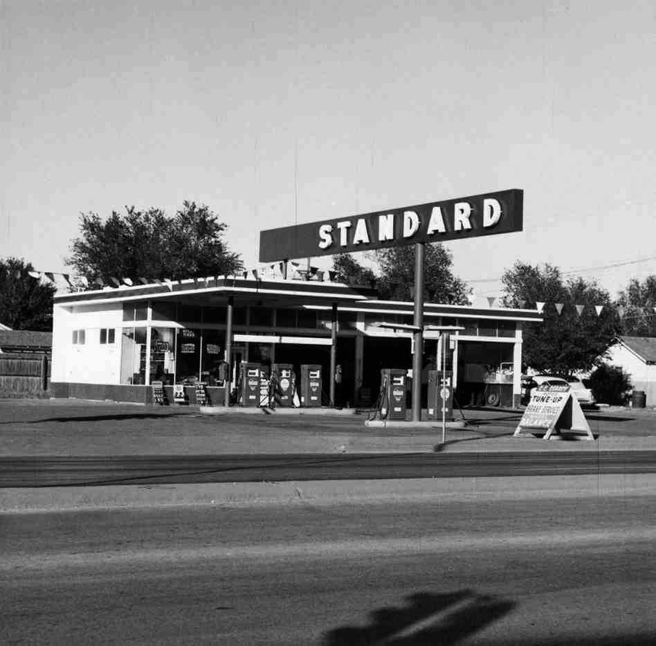 Twentysix Gasoline Stations , 1969
