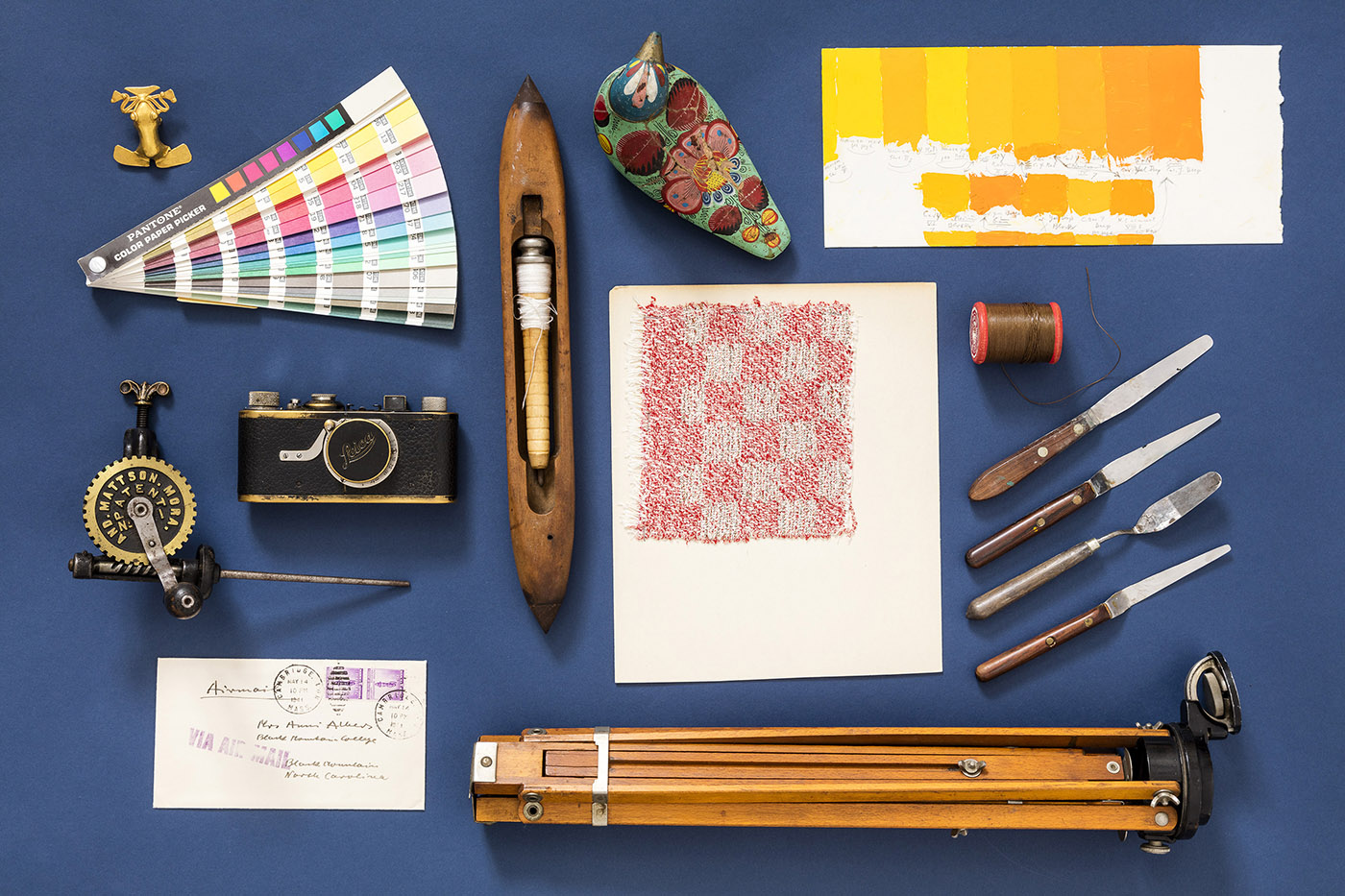 Artifacts from The Josef and Anni Albers Foundation.