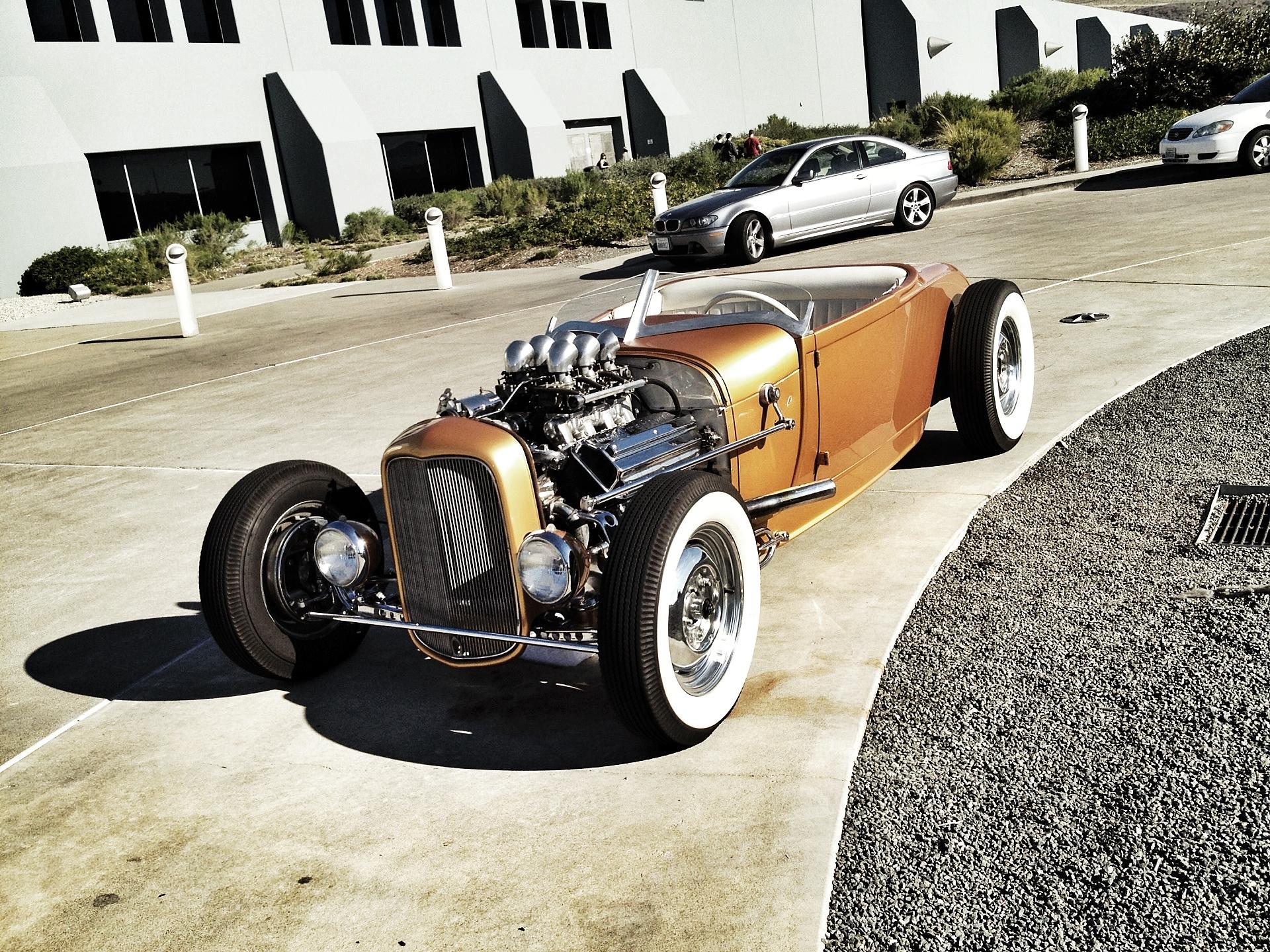 Custom Hot Rod by Oakley Designer, Nick Garfias.
