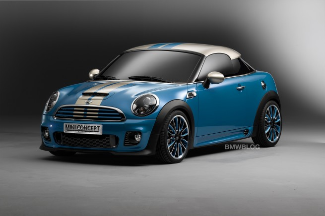 I love the MINI Coupe. More pics and release date announcement from BMWBLOG.