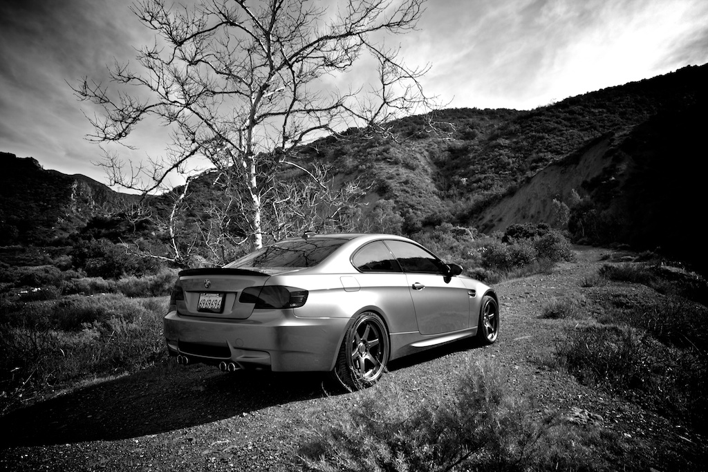 A few B&W shots of my quick Blackstar/Silverado Canyon roadtrip today.