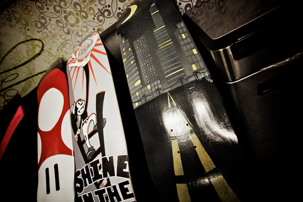 2-Tone Skate Deck Challenge by Oakley Web Creative team.