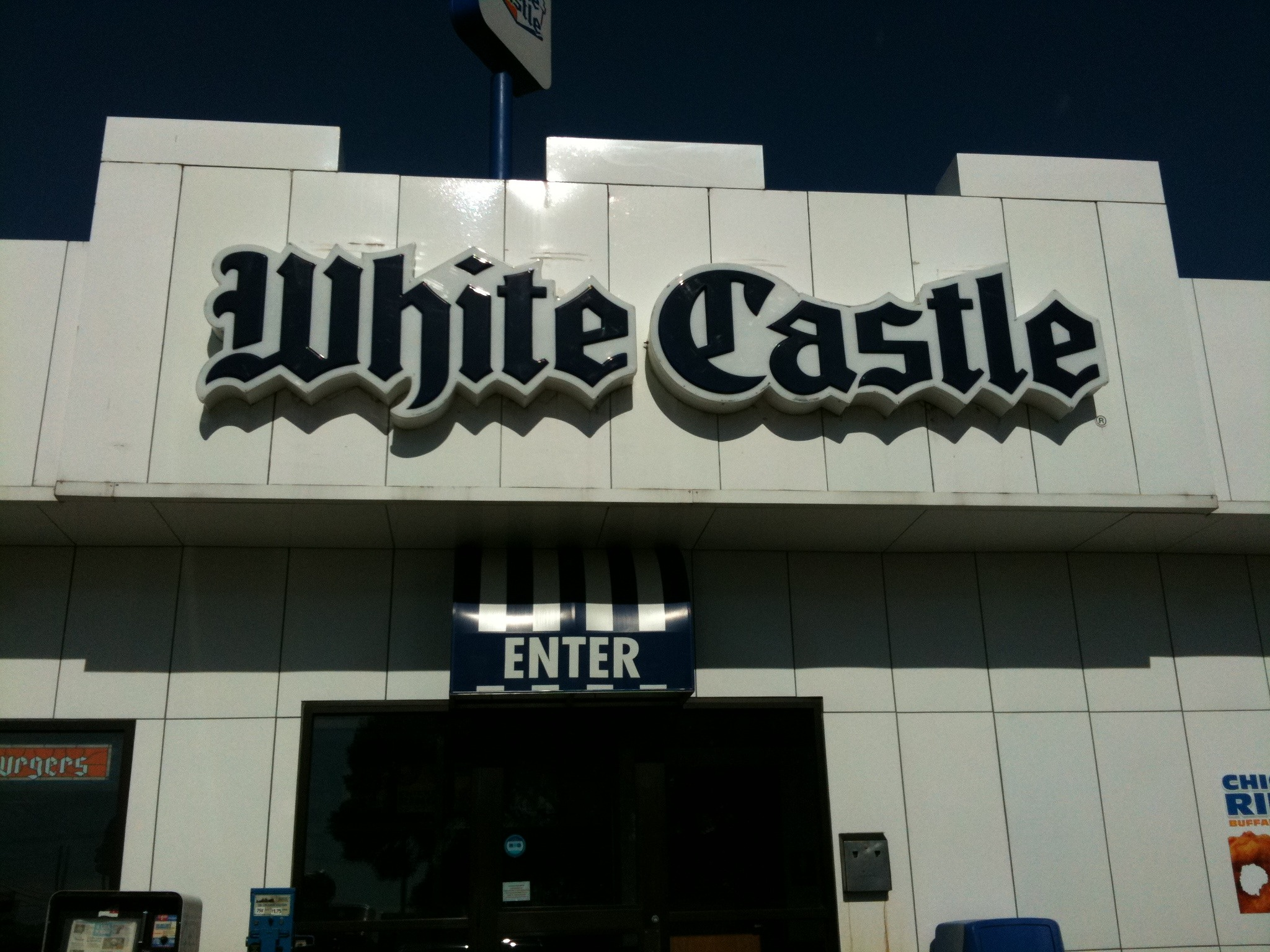 kloh goes to White Castle