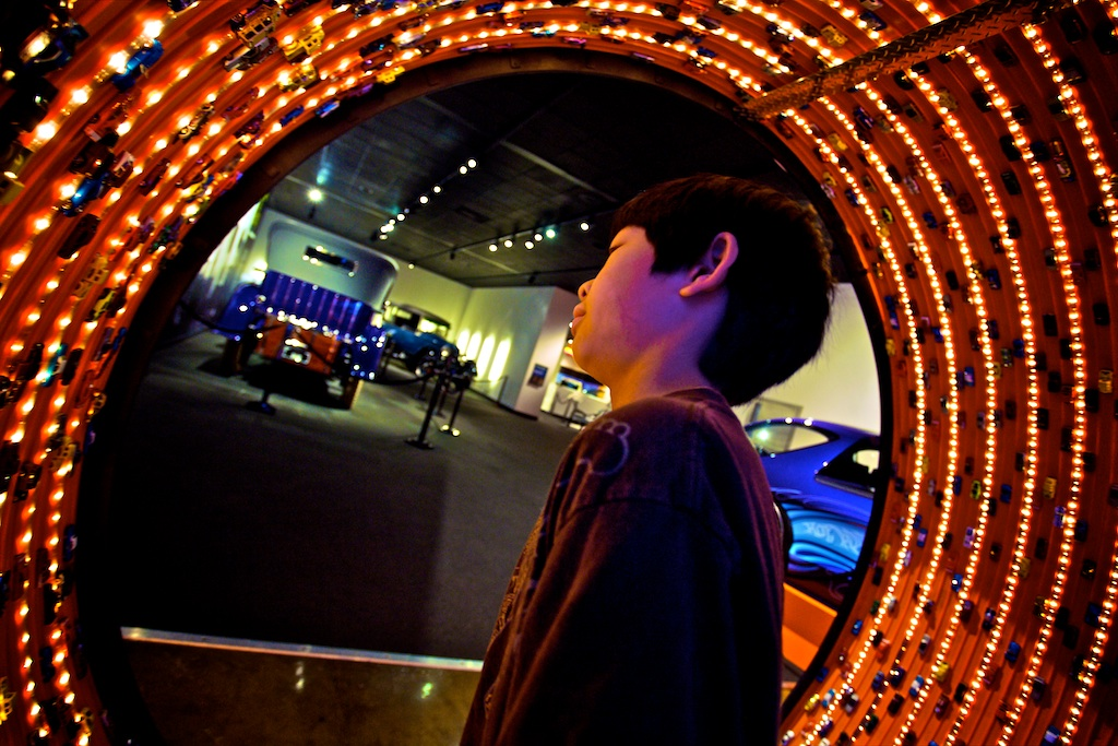 A few photo selects from our visit to the Peterson Automotive Museum today.
